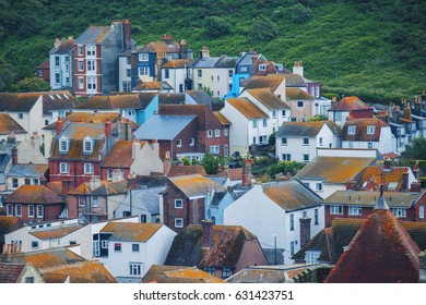 group of buildings in Hastings, East Sussex, England