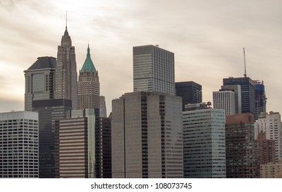 Group of Buildings in Manhattan - New York City, U.S.A.