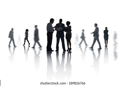 Group of Business Meeting