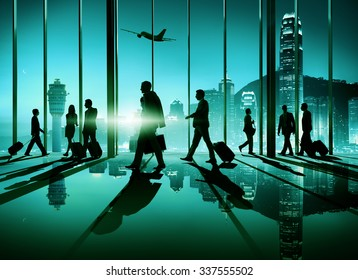 Group of Business People Connection Corporate Concept