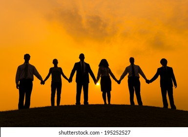 holding hands silhouette images stock photos vectors shutterstock