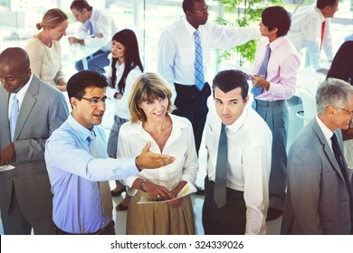 Group of Business People Meeting Discussion Planning Concept