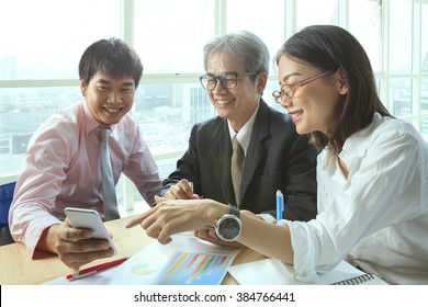 group of business people relaxing emotion office life