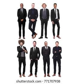 Group of businessmen