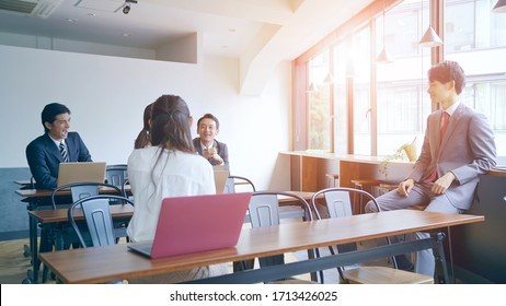 Group of businessperson in the conference room.