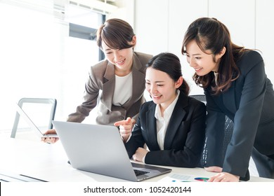 Group of businesswoman in the office.