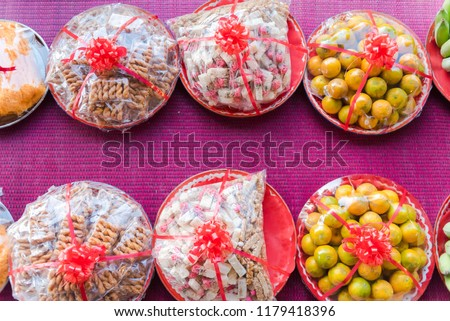 Fine Group Candy Decoration Thai Wedding Stock Photo Edit Now Beutiful Home Inspiration Cosmmahrainfo
