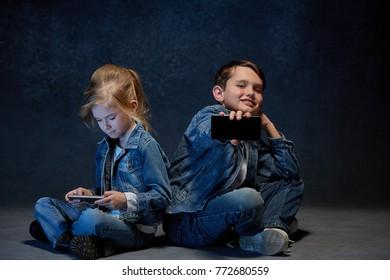Group of Children Studio Concept