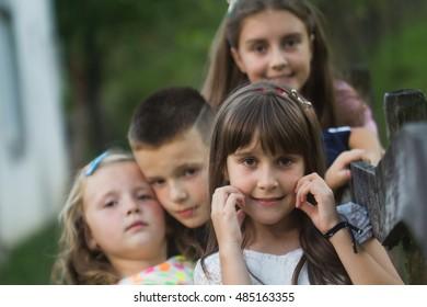 Group of children together