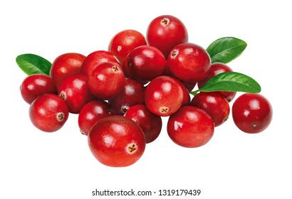 group of cranberries