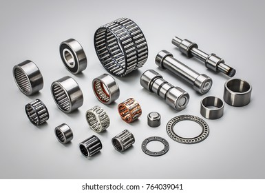a group of different types of bearings