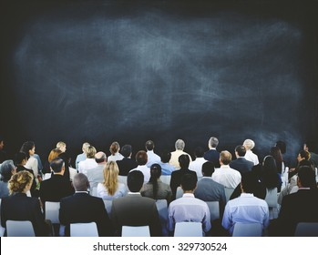 Group of Diverse Business People in a Seminar Concept