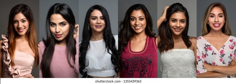 Group of diverse Indian women posing in a group