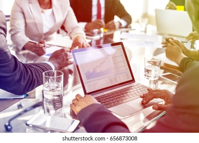 Group of Diverse People Have Meeting Conference