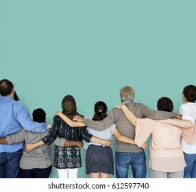 Group of Diverse People Together Teamwork