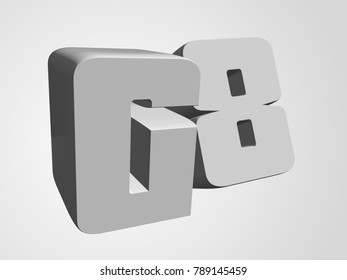 Group of Eight 3d G8 render