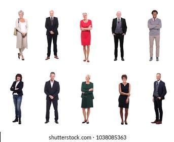 Group of elder people