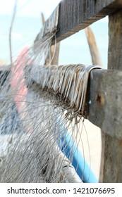 group of fishhook of Thai fisherman