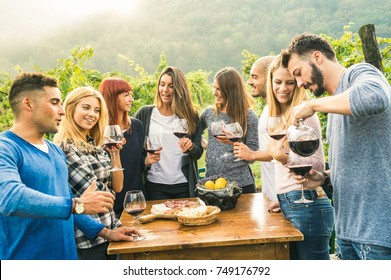 amateur teen friends having fun