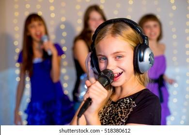 Kids Karaoke Images, Stock Photos & Vectors | Shutterstock