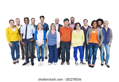 Group Of Happy Multi-Ethnic and Diverse People