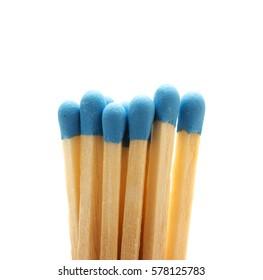 Group of match sticks.