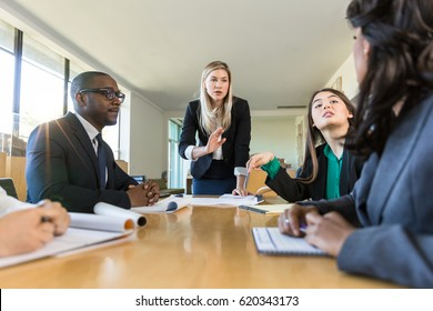 Group meeting at business finance round table lecture structure strategy planning execution