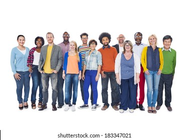 Group Of Multi-Ethnic Diverse People
