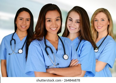 Nurses Group Images, Stock Photos & Vectors | Shutterstock