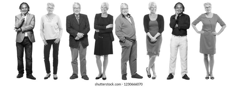 Group of oldies