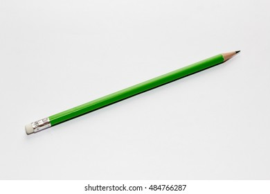 group of pencil isolated on white