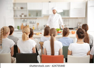 Group of people at cooking classes