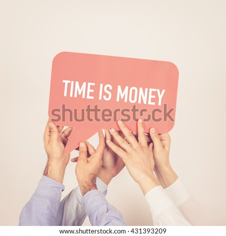 time is money speech