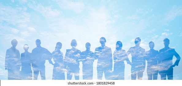Group of people. Human Resources. Global network. Diversity. - Shutterstock ID 1801829458