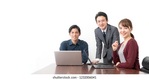 Group of people in the office.