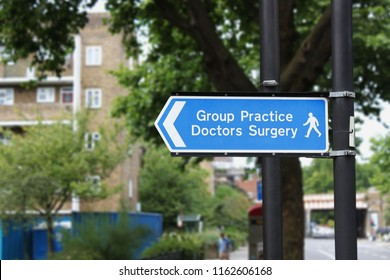 Group Practice Doctors Surgery Sign
