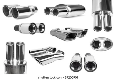 group sports exhaust pipe for the car