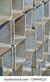 Group of square tube steel, Thailand.