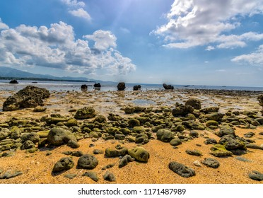 A group of stones in Dahican, Mati, Davao Oriental, Philippines.