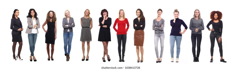 Group of strong women