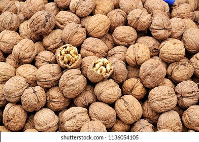 group of wallnuts