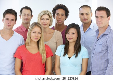 Group Of Young Business People In Casual Dress