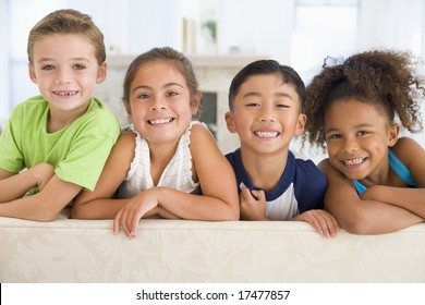 Group Of Young Friends Together