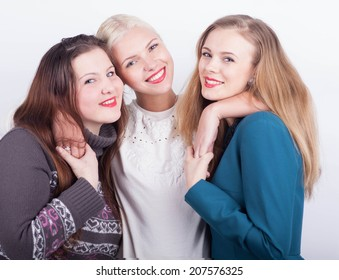 Group of young woman