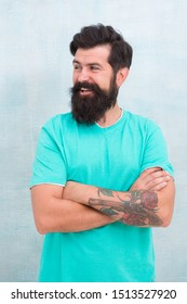 Grow long beard. Challenges like dryness ingrown hairs and irritation. Find best beard design shape for facial hair. Products is essential for maintaining men beard care. Bearded hipster brutal guy.