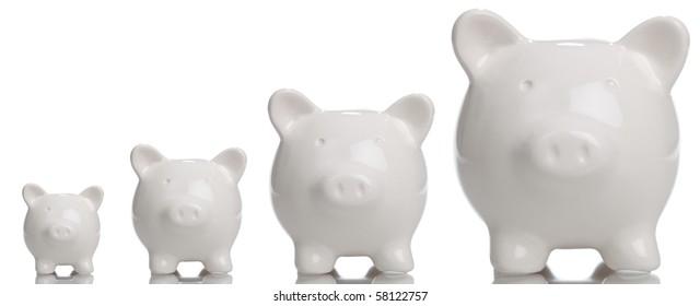 Growing Piggy Bank