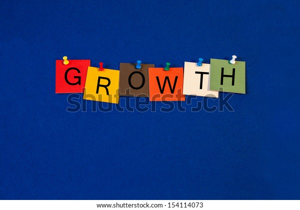 Growth - Business sign terms series