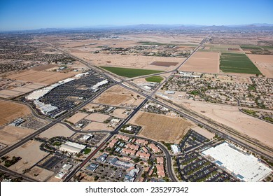 Growth and Development in the east valley outside Phoenix, Arizona