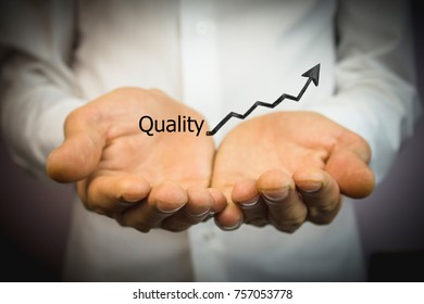growth quality text .
