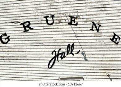 Gruene Hall in Historic Gruene, Texas